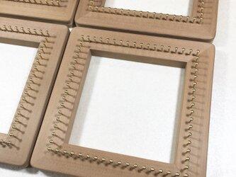 バイアス木枠   タイプ1  織り木枠   織り機の画像