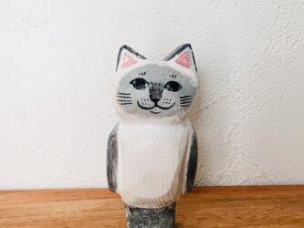 猫マグネット シャム猫の画像