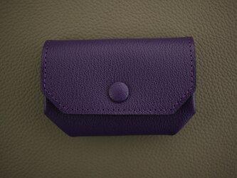 コインケース【Dobrar Coin Quarto】Violetの画像