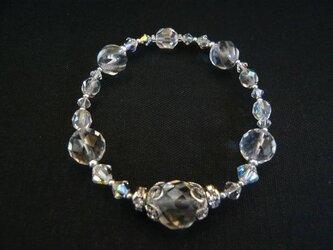 【再販】水晶クラシカルブレスレットの画像