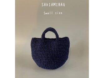 裂き編みバッグ マルシェバッグ smallサイズの画像