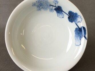 染付野の草花シリーズ 五寸皿 菜の花の画像