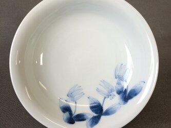染付野の草花シリーズ 五寸皿 かたくりの画像