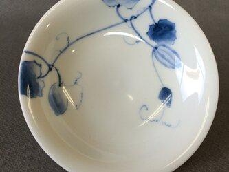 染付野の草花シリーズ 四寸皿 からすうりの画像