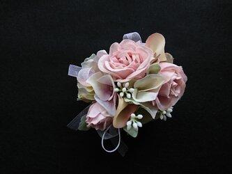 rose corsage ( pink )の画像