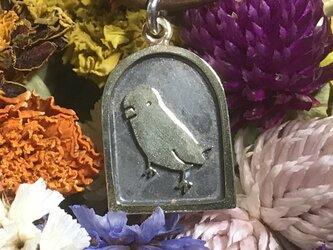 インコのペンダント 真鍮の画像