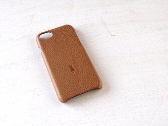 【受注生産】iPhone case slim-type/camelの画像