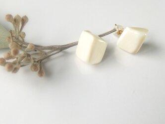 k10✼Makkoh pierced earrings 92021の画像