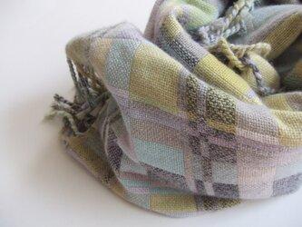 手織りカシミアストール・・遠くの国からの画像