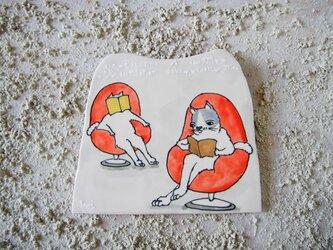 タイルの動物図鑑 ネコ兄弟の画像