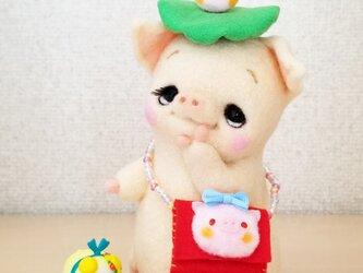 メルヘン♡レトロな仔豚ちゃんの画像