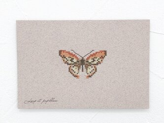 Small embroidery 小さな刺繍 Papillon Aの画像