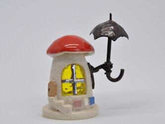 傘持ったチビキノコ(161)の画像