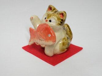 めでたい鯛猫の画像