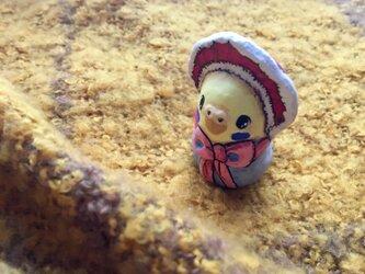 文化人形インコちゃんの画像