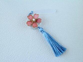 M様専用ページ 桜のタッセルストラップ の画像