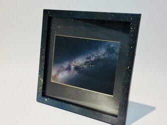 Galaxy Photo Frame (Large size) / 銀河柄フォトフレームの画像