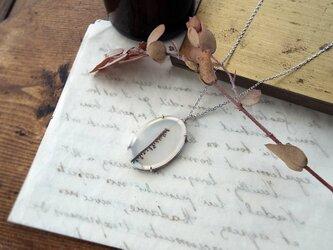 【一点物】デンドリティックアゲートのネックレスの画像