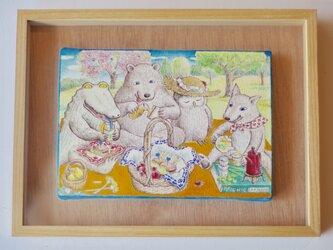 「ピクニック」原画 の画像