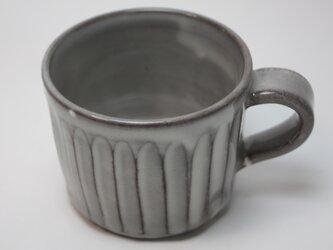 しのぎコーヒーカップ  J130の画像