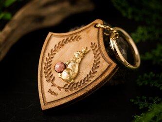 【うさぎと宝石バッグチャーム/キーアクセサリー】楓×シリシャシストの画像