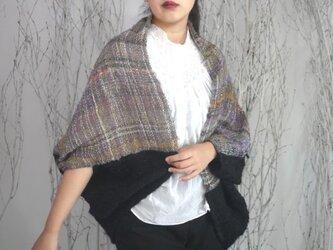 手織り モモンガジャケット 羽織の画像
