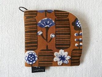 型染め 財布「花図鑑」の画像