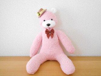 ピンクのソックベアの画像