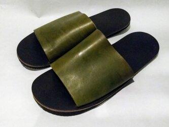 HC sandal グリーンの画像