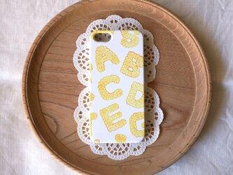 ハード型スマホケース biscuits alphabet (plain)【iPhone/Android 各機種対応】の画像
