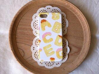 ハード型スマホケース biscuits alphabet (assort)【iPhone/Android 各機種対応】の画像