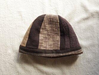 チョコニットマル帽の画像