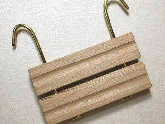 バンド織り ベルト留めの画像