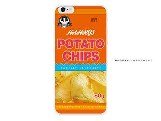 iphone7 ケース ポテチ ポテトチップス スマホケースの画像