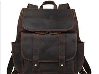 5007a69a0cae 超大容量 ラウンドzip 2WAY メンズ 本革 リュックサック ディパック バッグパック アウトドア 旅行トラベル鞄