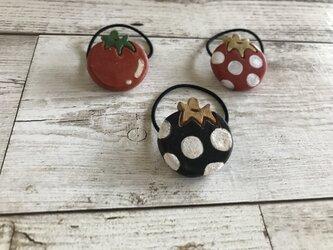 トマトのヘアゴム(小)/BKWの画像