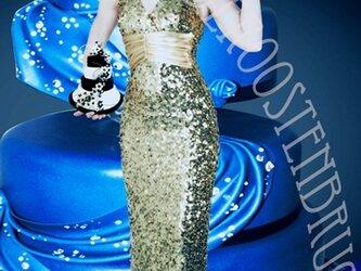 ゴージャスブルーのマリー・アントワネットの画像