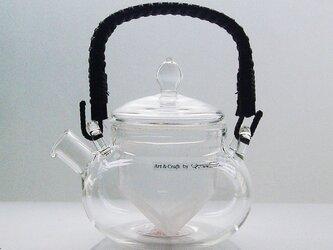 耐熱ガラスの和茶急須 (WKU-25)の画像