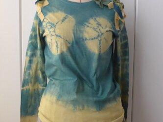 藍xたまねぎのオッパイ絞りTシャツ【L】の画像