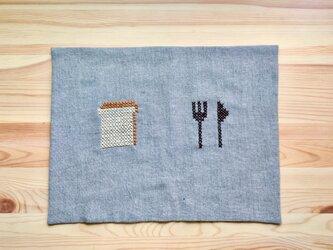 ランチョンマット 食パンの画像