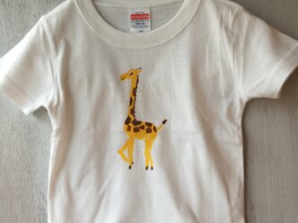 キッズキリン ティーシャツTシャツ の画像