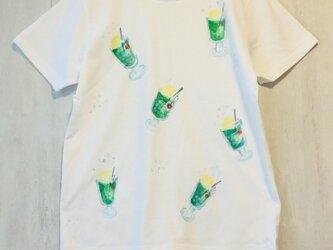 キッズメロンフロート ティーシャツTシャツ の画像