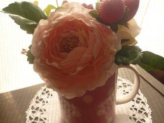 コーヒーカップ♪ブーケの画像