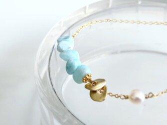 larimar*braceletの画像