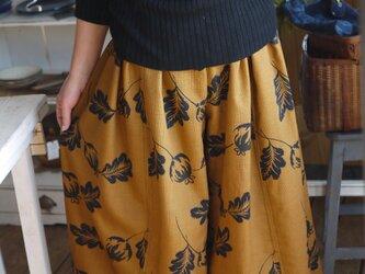 デザイナーズウール反物からスカートパンツの画像