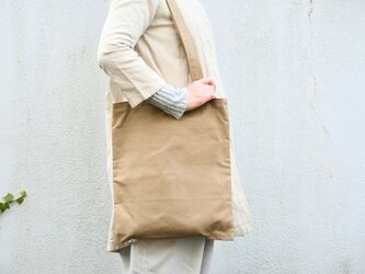 canvas bag - dusty oliveの画像