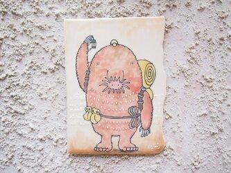 タイルの動物図鑑 ホシバナモグラの画像