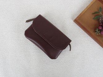 柔らかなお財布(brown  2)の画像
