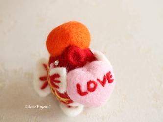 LOVE金魚の画像