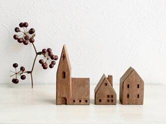 小さな木の家 ー教会51ーの画像